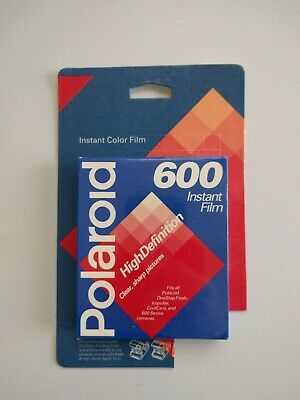 Vintage Polaroid 600 Instant Film 1 Pack 10 Photos Exp 02/97 New Sealed