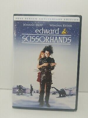 Edward Scissorhands (DVD, 2005, 10th Anniversary Edition Full Frame Sensormatic)