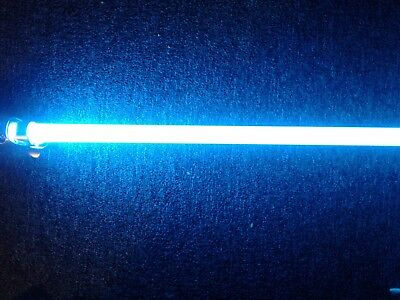 Custom DIY ice blue  lightsaber kit with sabercore sound board for Graflex 2.0