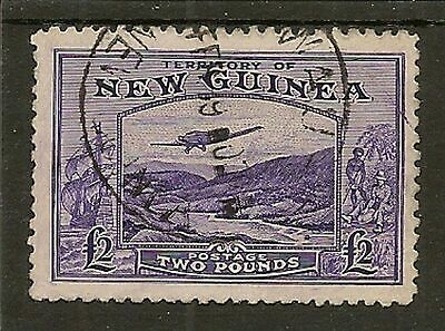 New Guinea 1935 Air £2 Goldfields Sg204 Fine Used