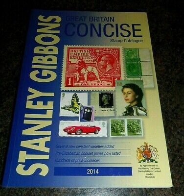 STANLEY GIBBONS Great Britain Concise Stamp Catalogue - 2014 - Very Good +