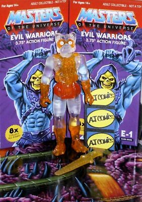 """2017 Super7 ReAction Masters of the Universe ORKO 4/"""" Inch Action Figure MOC"""