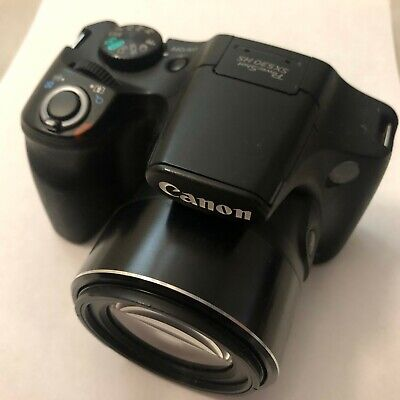 Canon PowerShot SX530 HS 16MP Digital Camera Tested Great Condition