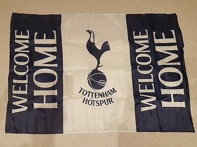 Large Welcome Home Flag Tottenham Hotspur Spurs v Crystal Palace at New Stadium