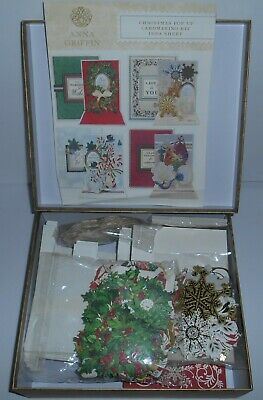 Anna Griffin Christmas Pop Up Cardmaking Kit - 50 Cards