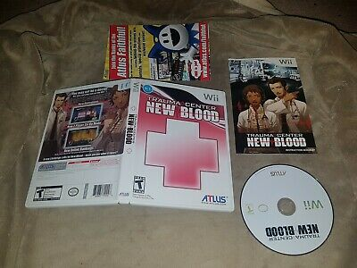 Trauma Center New Blood - Complete (Nintendo Wii)- NTSC