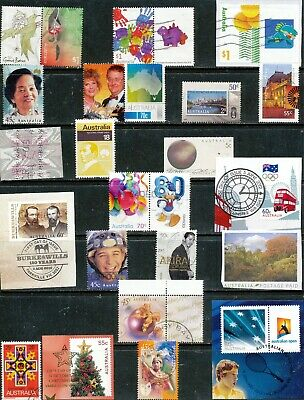 Australian Stamps - Unusual/Rare Mixture - Used/Bulk