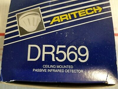 Aritech DR569 Passive Infrared Motion Detector, NEW