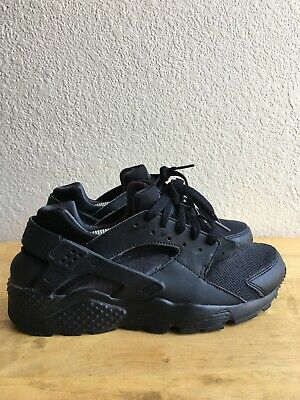 Nike Huarache Run (GS) Black Anthracite running training 654275-020 SIZE 7Y