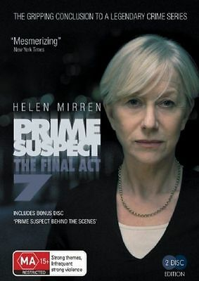 Prime Suspect The Final Act Series 7 DVD Brand New & Sealed