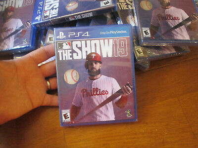 MLB THE SHOW 19 PS4 SONY 2019 BASEBALL authentic BRAND NEW FACTORY SEALED
