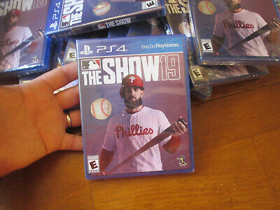 The Show 19 Ps4 Sony 2019 Baseball Brand New Factory Sealed