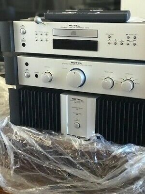 Rotel RB-1070 stereo power amplifier