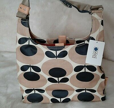ORLA KIELY Giant Oval Flower Midi Sling Bag -Nude