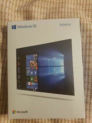 Microsoft Windows 10 Home 32/64 Bit USB- Brand New Sealed(Retail Box).
