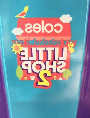 Coles Little Shop 2 Case and Mini Collectible Toys NEW Choose what you need now
