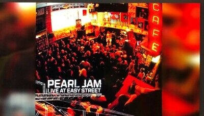 PEARL JAM - Live at Easy Street RED VINYL TEN CLUB EDITION Record
