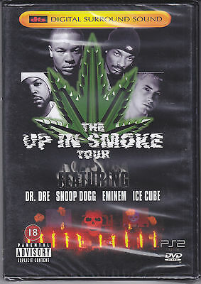 DVD The Up in Smoke Tour Dr.Dre Snoop Dogg Eminem Ice Cube Neu 2000