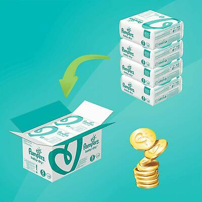 Pampers Baby-Dry, 144 Nappies, 11-16 kg, Size 5
