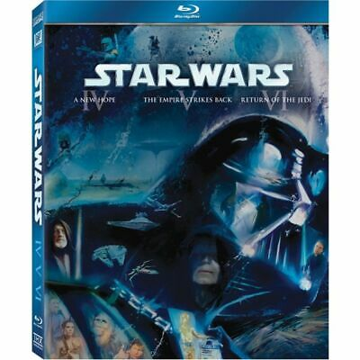 Star Wars: The Original Trilogy (Episodes IV V & VI) Blu-ray RARE - FREE POST