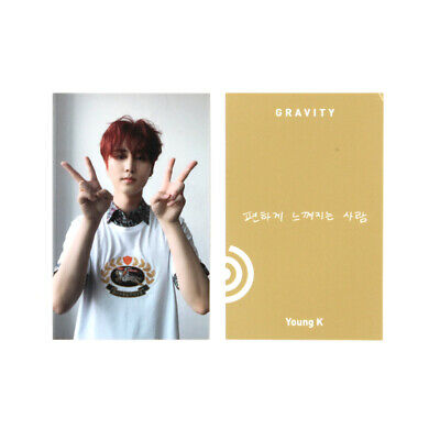 [DAY6]The Book of Us:Gravity/Time of our life/ Your Page (Mate) ver. / B-Young K