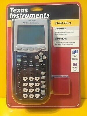 Texas Instruments TI-84 Plus Graphing Calculator - Black BRAND NEW