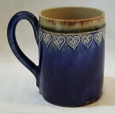 Royal Doulton Lambeth wear vintage Victorian antique tankard mug