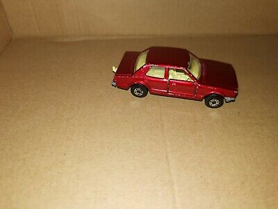 Matchbox Superfast No 55 Ford Cortina Metallic Red Unboxed