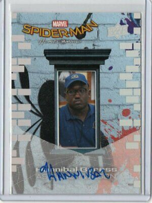 Hannibal Buress 2017 Upper Deck Marvel Spider-Man Homecoming Auto#Ss8
