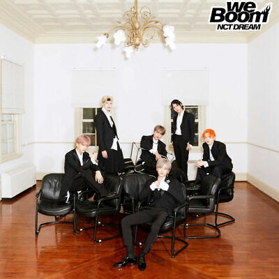 NCT DREAM [WE BOOM] 3rd Mini Album CD+POSTER+PHOTOBOOK+CARD+TRACKING, SEALED