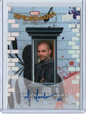 Michae Mando 2017 Upper Deck Marvel Spider-Man Homecoming Auto#Ss7