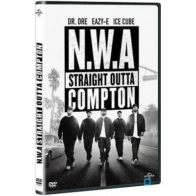 N. W.a Straight outta Compton (Biopic) DVD New Blister Pack