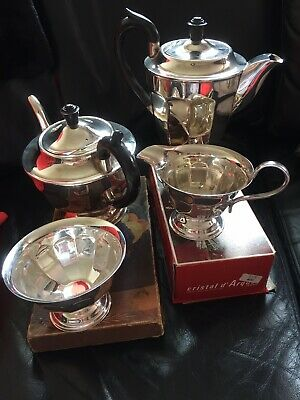 Vintage Silver Plated EPNS Coffee/tea Set Viners Of Sheffield Made In England