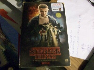 Stranger Things Season1- BluRay+DVD+Poster Collectors Edition (Target Exclusive)