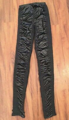 As New $299 SASS And BIDE Black Rats Leggings Size S-M  Suit 6-8