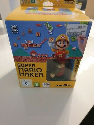 Super Mario Maker -- Limited Edition Pack (Nintendo Wii U, 2015)