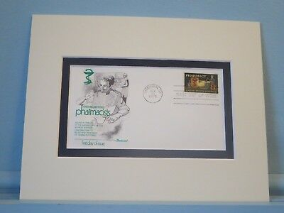 Pharmacists of America & First Day Cover of The Pharmacy Stamp
