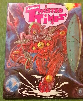 Alan Moore's Twisted Times 1st Edition Titan Books 1987 Graphic Novel Paperback