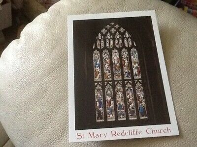 Postcard - Church of St Mary Redcliffe, Bristol, UK (B)