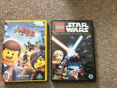 Lego DVD's - The Lego Movie & Lego Star Wars, The Empire Strikes Out