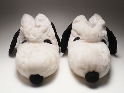 Vintage Pair of Snoopy Slippers Size Large