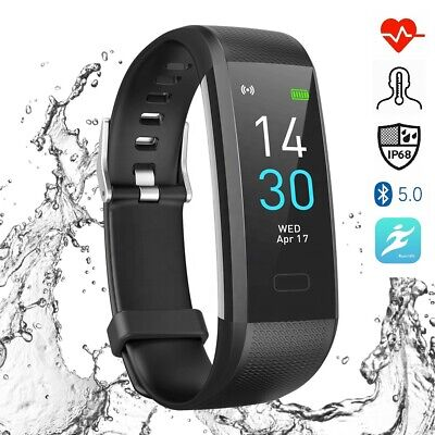 Smartfit Pro Fitness Activity Tracker Sport Smart Watch Step Calories Distance