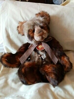 Charlie Bears Tigga. Club member exclusive, Ltd to 600 only. Retired plumo bear