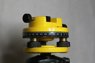 Surveyors Tripod and Adjustable head With One Spare Head