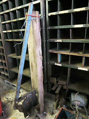 Very large Metalwork guillotine/cutter - Angle iron/Dexion racking etc.