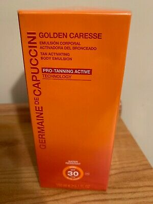 Germaine de Capuccini Golden Caress Tan Activating Body Emulsion 150ml - New