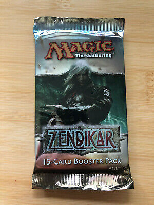 Magic Zendikar English Sealed Booster Pack