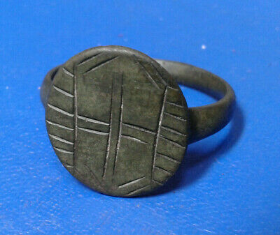 ANCIENT ROMAN BRONZE RING 3rd - 5th CENTURY AD