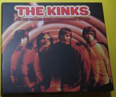 Kinks - Are The Village Green Preservation Society (2004 Uk Triple Cd)