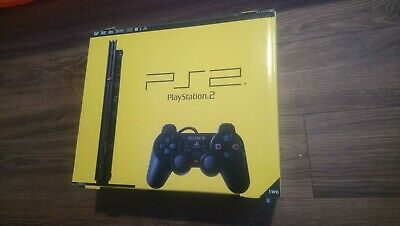 Sony Playstation 2 PS2 Slimline Console BOXED black
